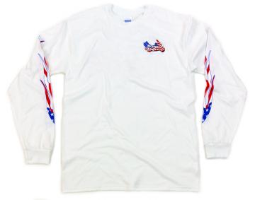 Classic WingStuff Long Sleeve Riding Shirt White