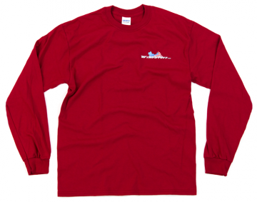 Modern WingStuff Long Sleeve Riding Shirt Red