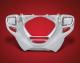 Chrome Lower Front Cowl for Rectangular Fog Lights