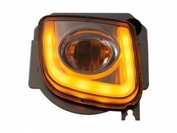 Pathfinder Running Turnsignal Rectangle Driving Light Kit