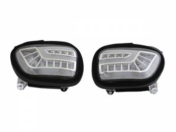 Pathfinder Dynamic-Sequential LED Front Indicators with DTR Lights