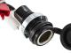 12V DC GL1800 Fairing Power Socket
