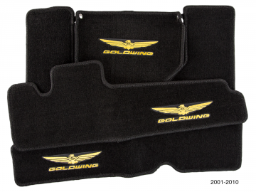 Deluxe Embroidered Saddlebag/Trunk Mats