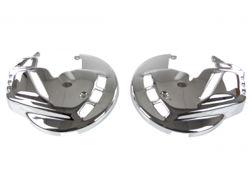 Chrome Front Rotor Covers