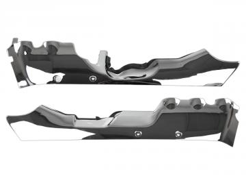 Rear Chrome Lower Cowls