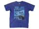 Mens Tried & True Route 66 Gold Wing Tee