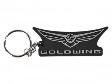2018 Gold Wing Logo Rubber Keychain