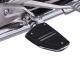 Twin Rail Footrest Chrome