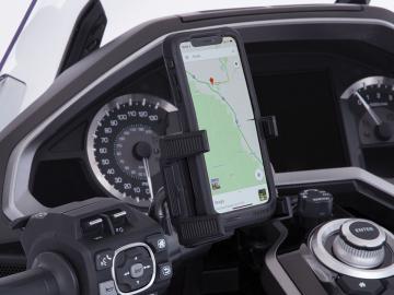 Left Side Smartphone Holder for 2018 Gold Wing DCT Models