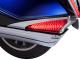 LED Saddlebag Lights Chrome