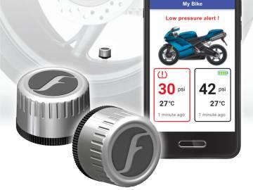 FOBO Bike 2 Bluetooth TPMS Silver