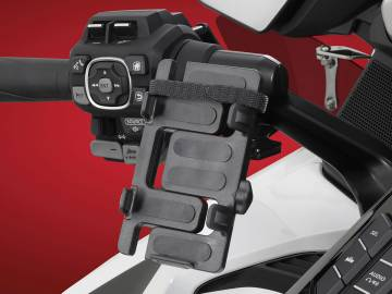 GPS/Phone Mount Black for 2018+ Gold Wing DCT